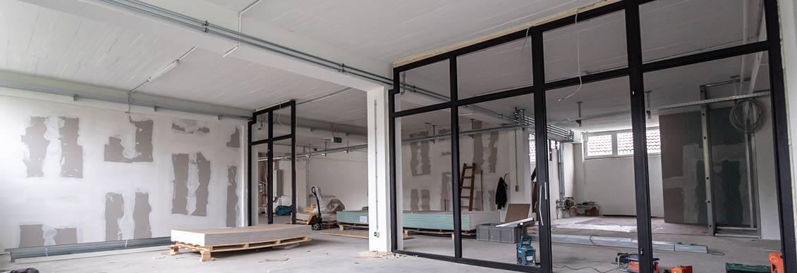 Sanierungsarbeiten durch die Mensana Bau GmbH